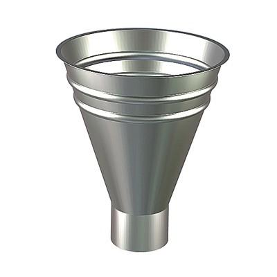 Воронка водосборная круглая металл цена
