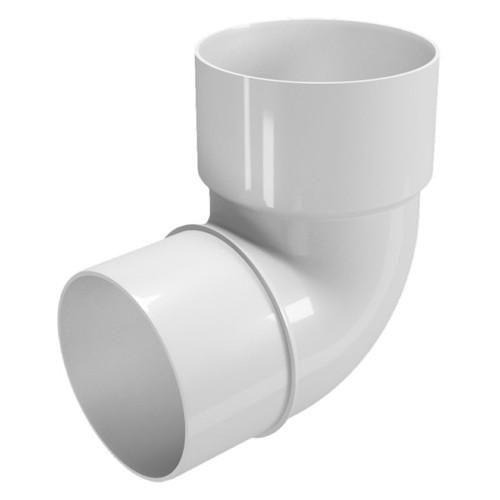 Колено водосточной трубы пластик цена