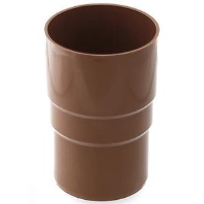 Соединитель водосточной трубы пластик цена