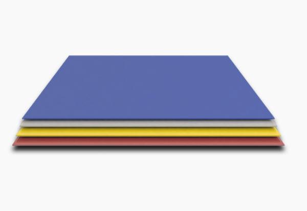 Гладкий лист 1250мм/0,4мм покрытие PE цена