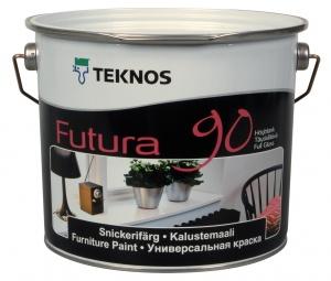 Краска для дерева и металла Futura 90 цена