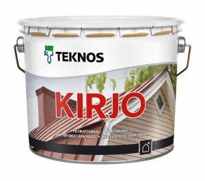 Краска кровельная по оцинковке и металлу Kirjo цена