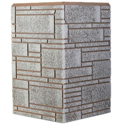 Угол декоративный высотой 455мм для фиброцементных панелей (сайдинга) Роспан цена