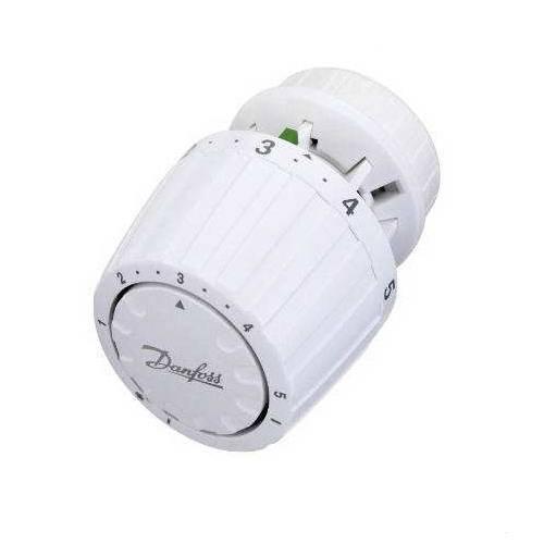 Термостатическая головка, газ, встроенный датчик, Danfoss RA 2994 цена
