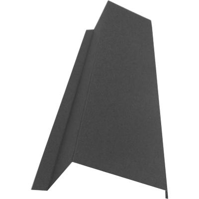 Торцевая (ветровая) планка для металлочерепицы цена