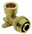 Push водорозетка для металлопластиковых труб, латунь цена