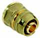 Push муфта прямая комбинированная - ВР для металлопластиковых труб, латунь цена