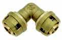 Push Уголок для металлопластиковых труб, латунь цена