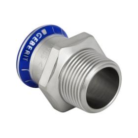 Муфта пресс/НР для стальных тонкост. труб, нерж. сталь цена