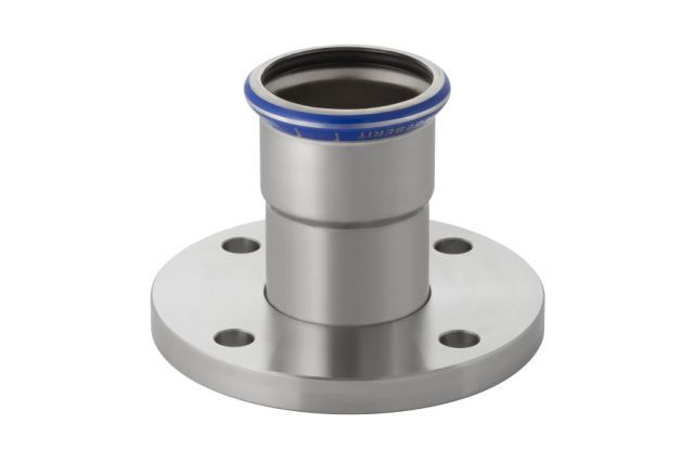 Муфта пресс/фланец для стальных тонкост. труб, нерж. сталь цена
