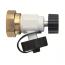 фото Термостатическая арматура для нижнего подключения радиаторов с дренажом, Vekolux