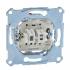 фото Выключатель рамочный 2-х клавишный для жалюзи механизм Schneider Electric M-TREND, 10А, IP20, MTN3715-0000