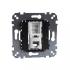 фото Розетка телефонная рамочная одиночная механизм Schneider Electric M-TREND, 1хRJ12 (4 конт), MTN463501