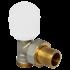 """фото Клапан радиаторный ручной, угловой без преднастройки Comap Focus 498Е 1/2""""х 1/2""""НР ЕК, 498834"""