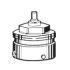 фото Адаптер для подключения термоголовок Heimeier на термостатические клапаны Danfoss RA , (216986)
