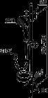 фото Душевая стойка с ручным душем Mora MMIX S5, шланг 1750мм, мыльница, хром, 130310