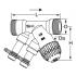 "фото Клапан балансировочный комбинированный TBV-C, Kvs 3.4, AMETAL (DZR латунь), 3/4""НР/НР, IMI TA 52 134-020, (218584)"