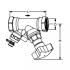 """фото Клапан запорный с измерительным ниппелем STS, 3/4"""", IMI TA 52 149-020, (218541)"""
